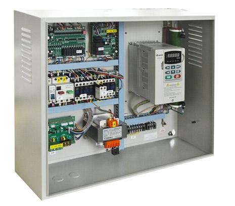 变频调速电梯控制柜(侧视)